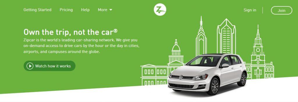 بیانیه محصول برای سرویس اشتراک خودرو